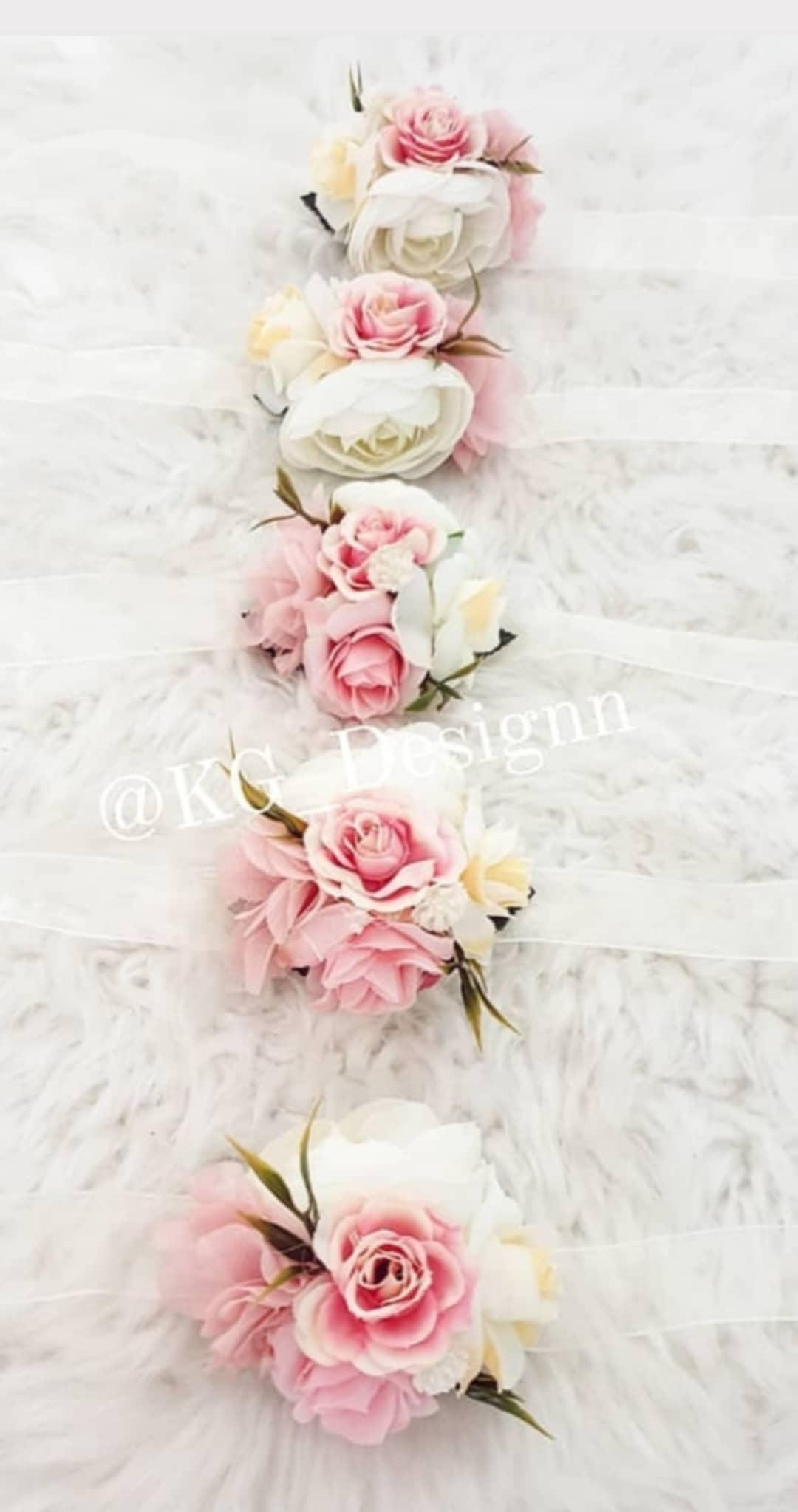 Bracelet rose nude blanc - KG DESIGNN