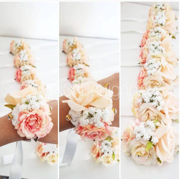 Bouquet nude saumon - KG DESIGNN